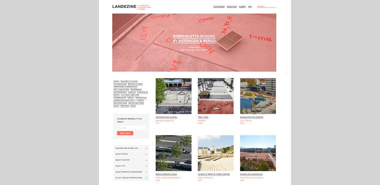 เว็บไซต์สถาปัตย์ landscape