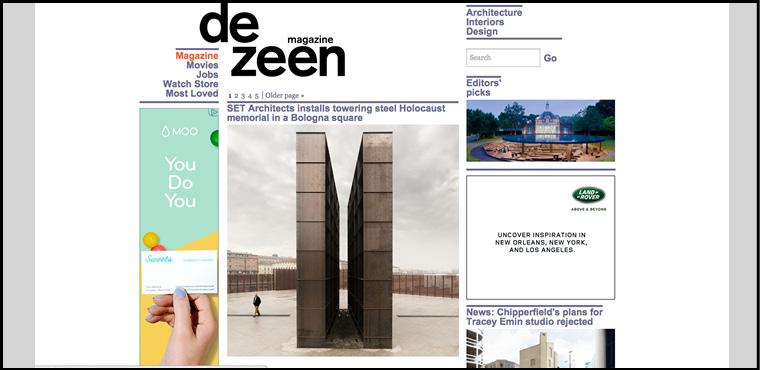 เว็บไซต์สถาปัตย์ Dezeen