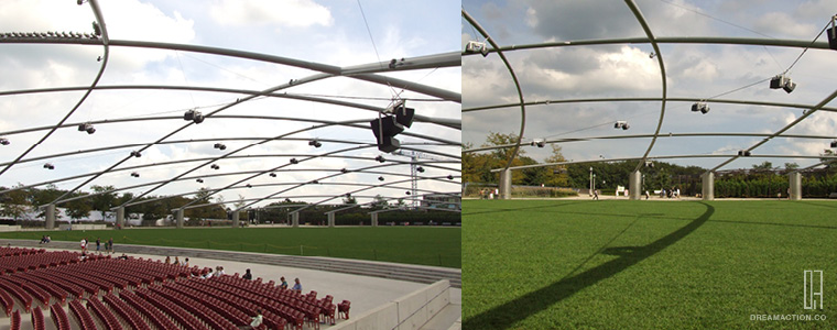 Millennium Park by Frank O. Gehry