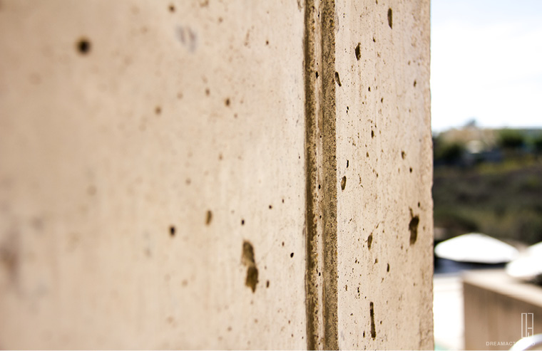 concrete detail1 Salk Institute Louis Kahn หลุยส์ คาห์น