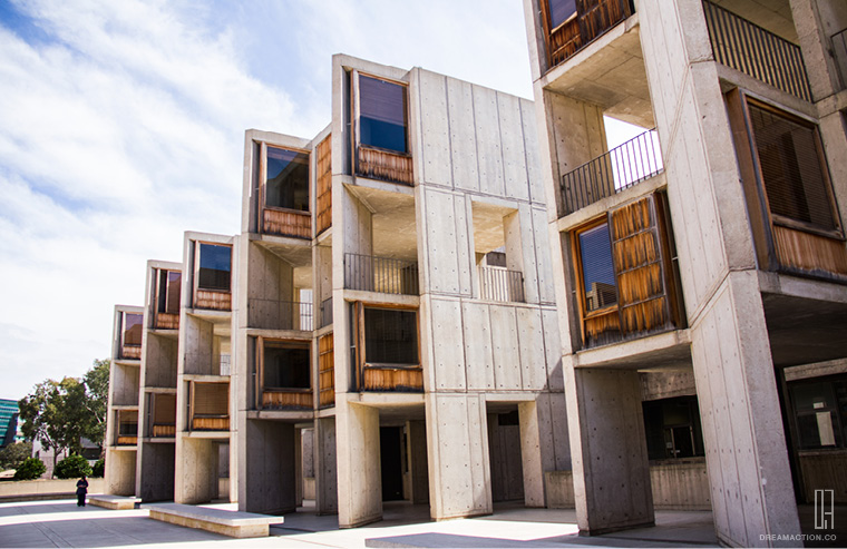 study tower Salk Institute Louis Kahn หลุยส์ คาห์น