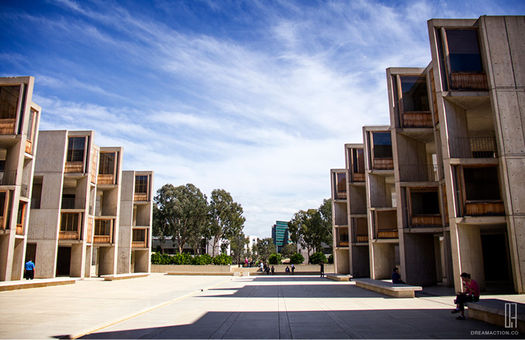 look back-Salk Institute Louis Kahn หลุยส์ คาห์น