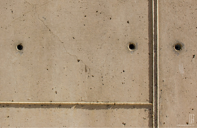 concrete detail 2 Salk Institute Louis Kahn หลุยส์ คาห์น