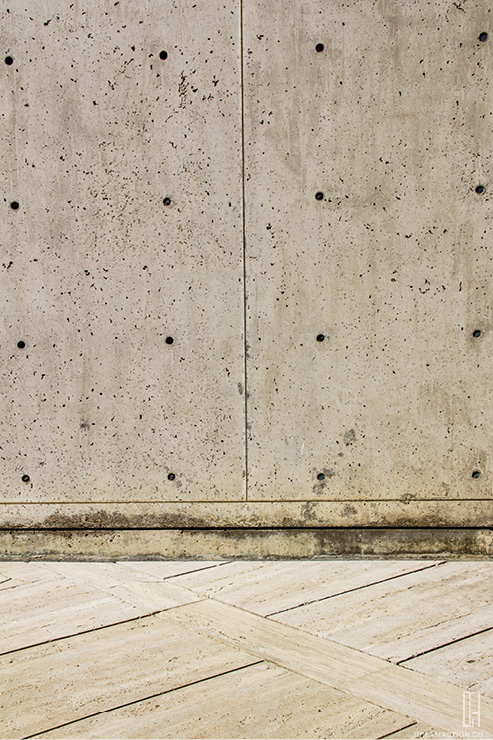 concrete to stone Salk Institute Louis Kahn หลุยส์ คาห์น