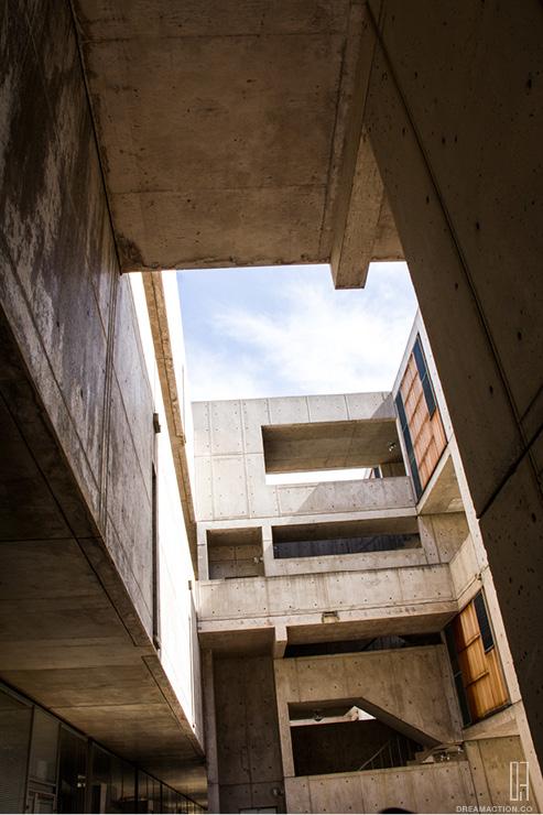 forms Salk Institute Louis Kahn หลุยส์ คาห์น