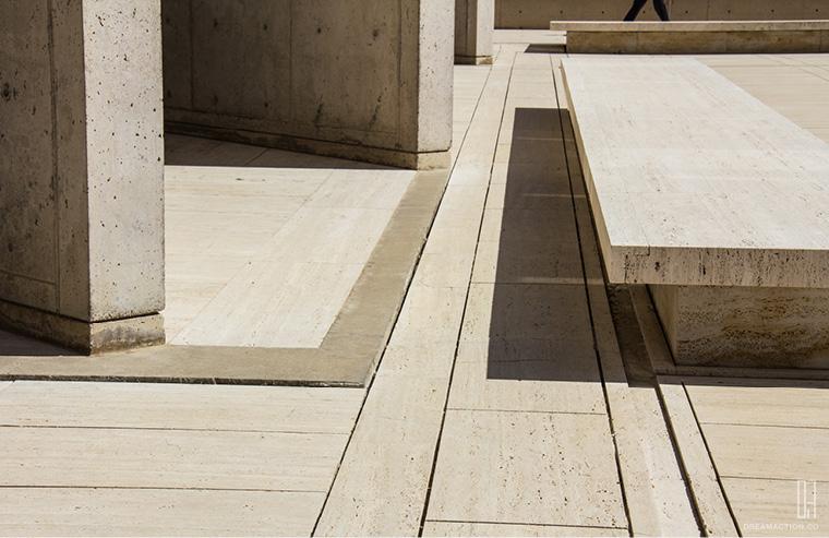 detail Salk Institute Louis Kahn หลุยส์ คาห์น