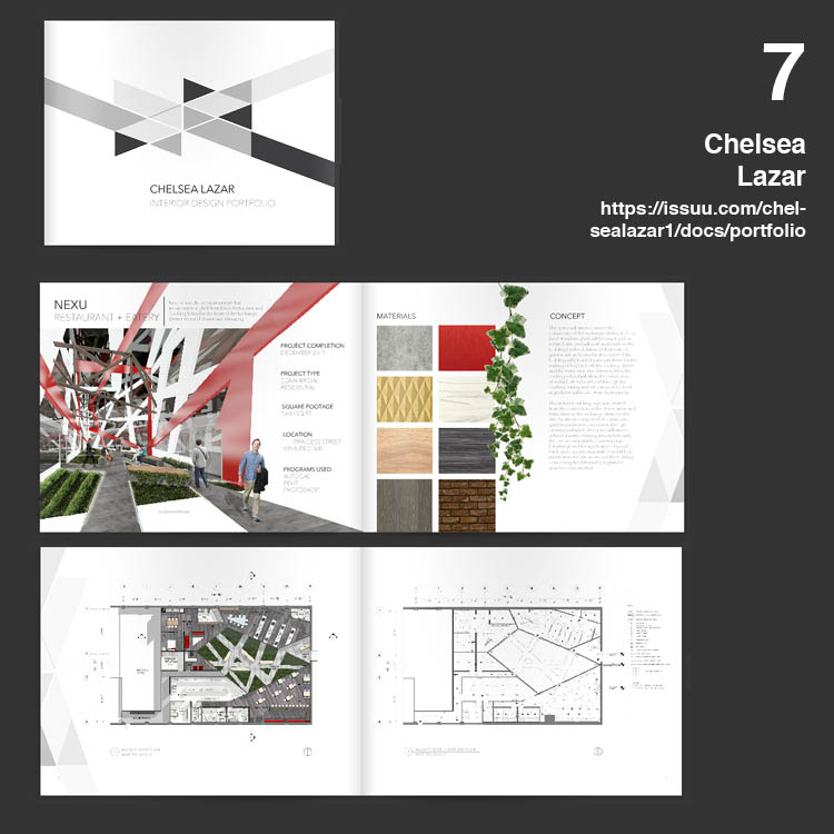7 ตัวอย่าง Beautiful Portfolio สวย : Architecture / Landscape / Interior
