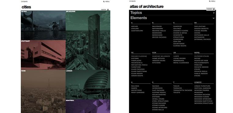 เว็บไซท์ สถาปัตยกรรม