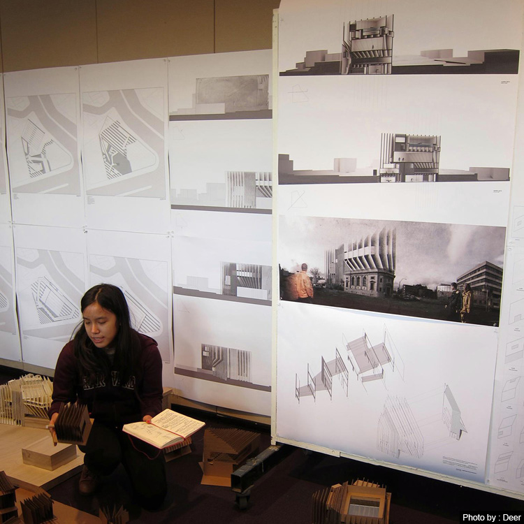 เรียนต่อโทสถาปัตย์ อเมริกา GSD Harvard University