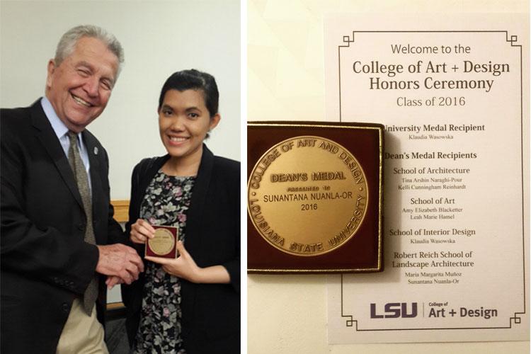 ประสบการณ์ การเรียน ปริญญาโท อเมริกา ภูมิสถาปัตยกรรม Louisiana State University