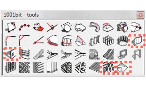วิธีการใช้ เทพ sketchUp extensions 1001 bits tool fredo scale