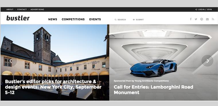 Website รวมแหล่งประกวดแบบ Arch+Design Competition