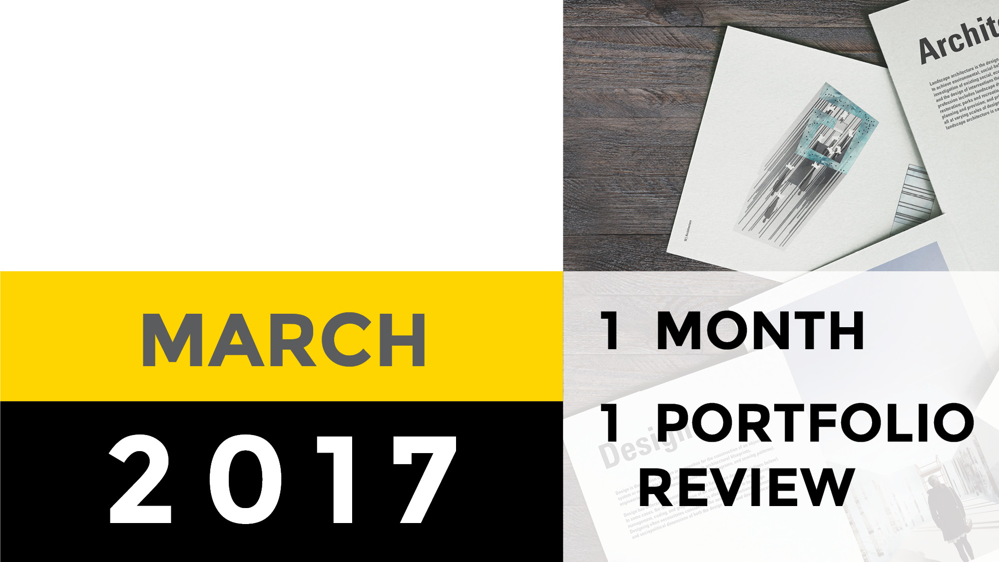 Portfolio Review | March 2017 | Asun Yuso
