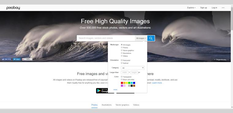 10 websites ดูดรูปและกราฟิกสวย ฟรี!ไม่ติดlicense